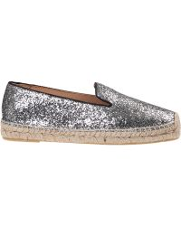 Marc By Marc Jacobs | Space Glitter Flat Espadrille Sliver Fabric | Lyst