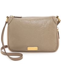 Marc By Marc Jacobs Washed Up Zip Cross Body Bag  - Lyst