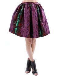 House Of Holland Gonna Verde/Fuxia - Lyst