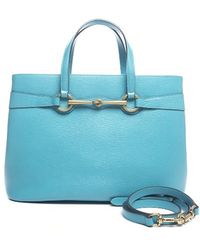 Gucci Pre-owned Bright Bit Convertible Tote Bag - Lyst