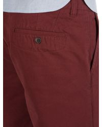 Racing Green - Young Flat Front Chino Shorts - Lyst
