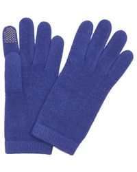 Portolano   Royal Blue Cashmere Itouch Gloves   Lyst