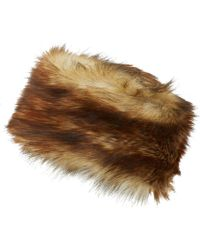 Imposter - Brown Faux Fur Russian Hat - Lyst
