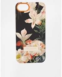 Ted Baker Opulent Bloom Iphone Case - Lyst