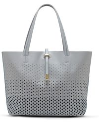 Vince Camuto Leila Leather Tote Bag - Lyst