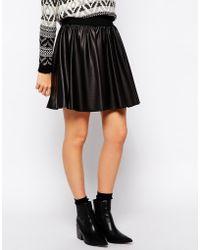Esprit A- Line Skirt - Lyst