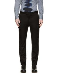 Calvin Klein Black Cargo Trousers - Lyst