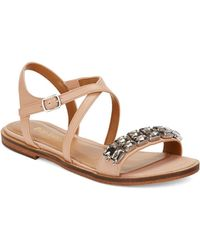 Enzo Angiolini Jewelana Slide Sandals - Lyst