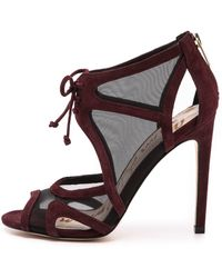 Sam Edelman Pompei Mesh Sandals - New Burgundy - Lyst