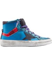Golden Goose Deluxe Brand 2.12 Leather High-Top Sneakers - Lyst