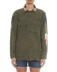 Bliss and Mischief - East At Dawn Cotton Army Jacket - Lyst