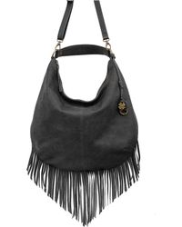 Lucky Brand Baily Leather Hobo Bag - Lyst