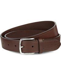 J.Lindeberg - Chap 35 Classic Leather Belt - For Men - Lyst