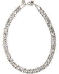 Philippe Audibert - Lyse Crystals Necklace - Lyst