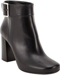 Prada Sidebuckle Ankle Boots - Lyst
