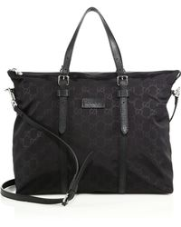 Gucci | Nylon Ssima Light Tote | Lyst