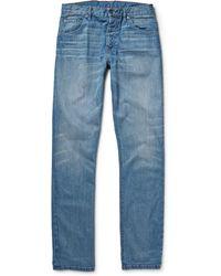 Raleigh Denim Jones Slim-Fit Denim Jeans - Lyst