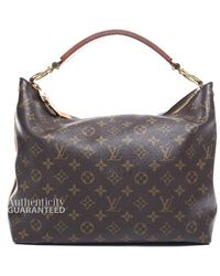 Louis Vuitton Pre-owned Monogram Canvas Sully Pm Bag - Lyst