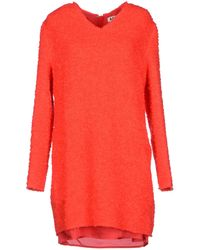 Acne Studios Red Short Dress - Lyst