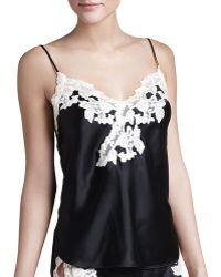 La Perla Maison Lace-Trim Camisole & Tap Pants - Lyst