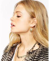 ASOS - Filigree Bead Swing Earrings - Lyst