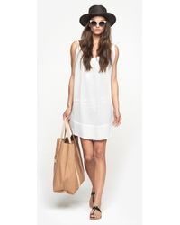 Chloé White Dress - Lyst