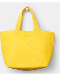 MZ Wallace Large Metro Tote Bright Yellow Oxford - Lyst