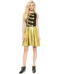Moschino Cheap and Chic Sleeveless Dress Multi - Lyst
