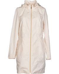 Geospirit Full-Length Jacket white - Lyst