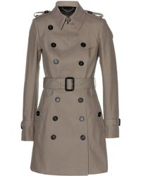 Burberry Prorsum Cottontwill Trench Coat - Lyst