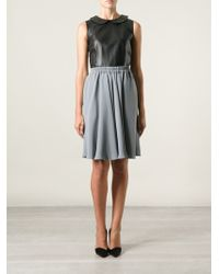 Giorgio Armani Pleated Midi Skirt - Lyst