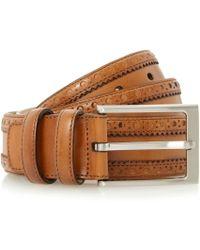 Dune - Proudluck Leather Belt - Lyst