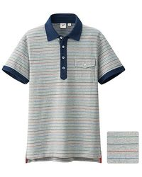 Uniqlo Washed Short Sleeve Polo Shirt (By Michael Bastian) - Lyst