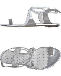 Moschino Cheap & Chic Thong Sandal - Lyst