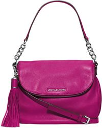 Michael Kors - Michael Bedford Medium Tassle Convertible Shoulder Bag - Lyst