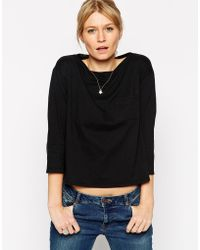 Asos The Pocket T-Shirt With Long Sleeves - Lyst