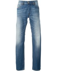 Diesel Black Faded Jeans - Lyst