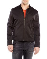 Cole Haan Coated Jacket - Lyst
