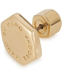 Marc By Marc Jacobs - Gold Bolt Stud Earrings - Lyst