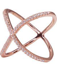 Carat* - Crux Millennium Rose Gold Finish Ring - Lyst