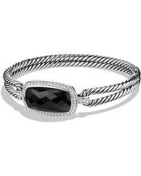David Yurman Albion Bracelet With Diamonds - Lyst