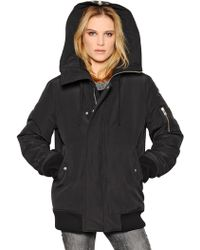 IRO Hooded Nylon Puffer Jacket - Lyst