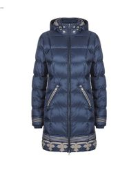 Bogner - Selina-d Long Embroidered Puffer Jacket - Lyst