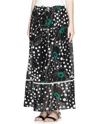 See By Chloé Printed Maxi Skirt - Lyst