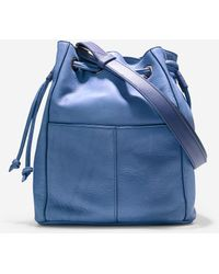 Cole Haan Felicity Drawstring blue - Lyst