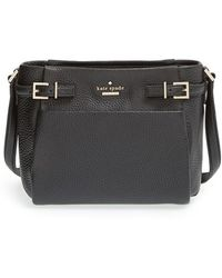 Kate Spade 'Holden Street - Mini Brandy' Pebbled Leather Crossbody Bag - Lyst