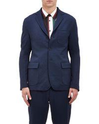 Marni Tech-twill Three-button Sportcoat - Lyst