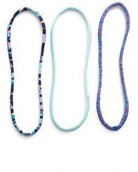 Zella - 'skinny Minnie' Headbands - Lyst