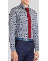 Ted Baker Gabez Octagon Print Sport Shirt - Regular Fit - Lyst