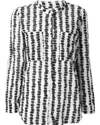 Humanoid White 'Flapuit' Shirt - Lyst
